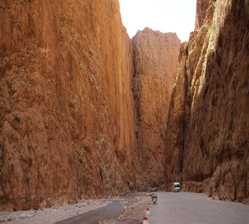 The Todra Valley Gorge