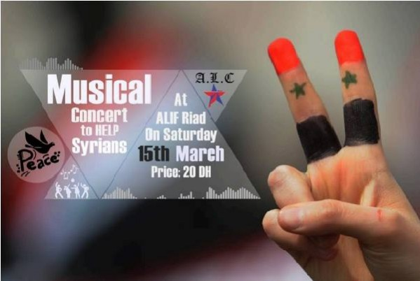 A musical concert in Fez to help Syrian Refugees