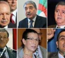 Algeria's six presidential candidates