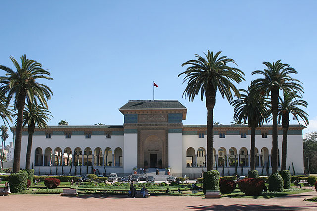 Casablanca's Royal Palace. Photo by Remi Jouan