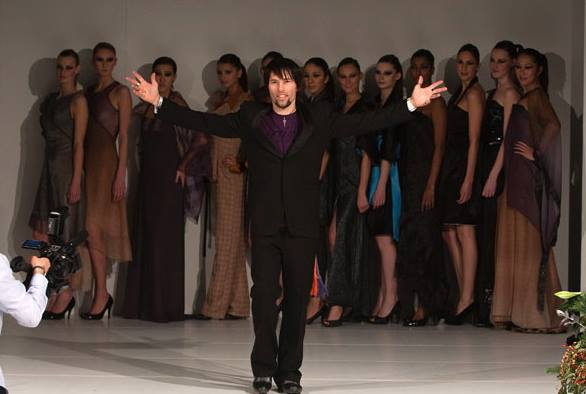 Dutch fashion designer Irving Vorster
