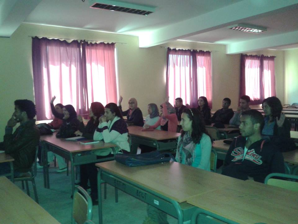 Moroccan Students in Meknes