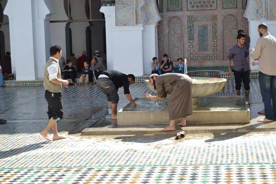 Moroccan University and Mosque al Qaraouiine