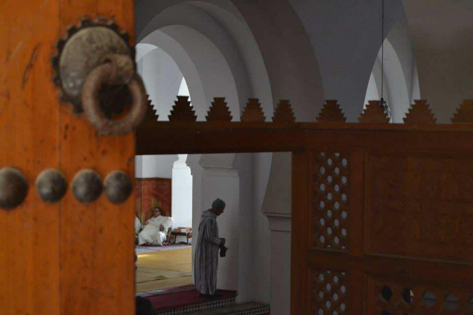 The Grand Mosque of Qaraouiine in Fez, Morocco
