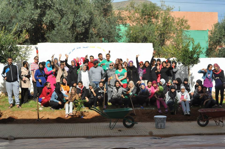The International Youth Foundation's Passport to Success Program at Dar Taliba-Zaio