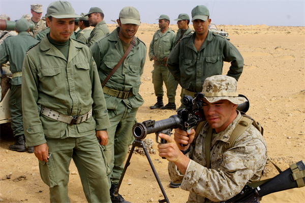 African Lion 2014, US Marines 'impressed' by Moroccans Royal Forces