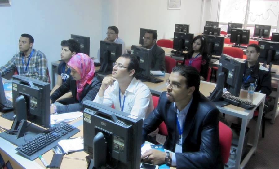 Alumni TechCamp Caravan Organized in Morocco, technology for Moroccan Students