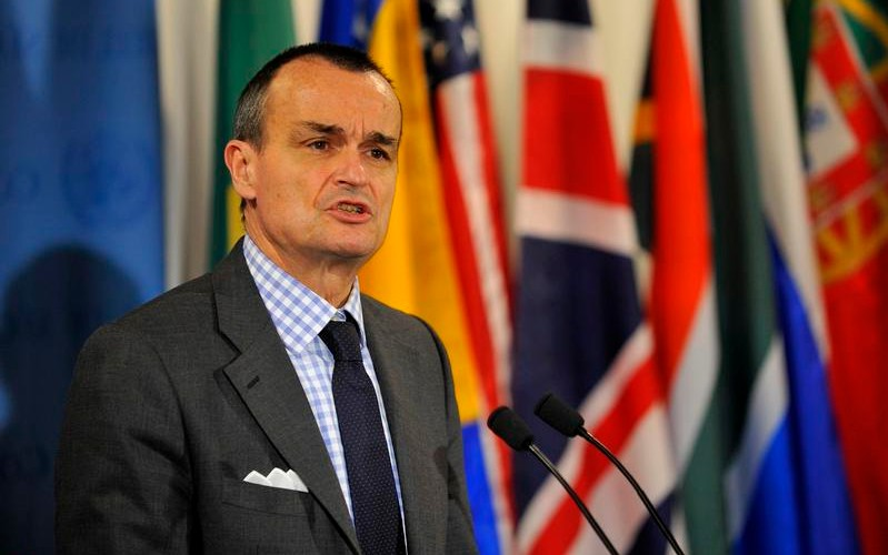France's Ambassador to the United Nations, Gerard Araud (Photo credit, United Nations)