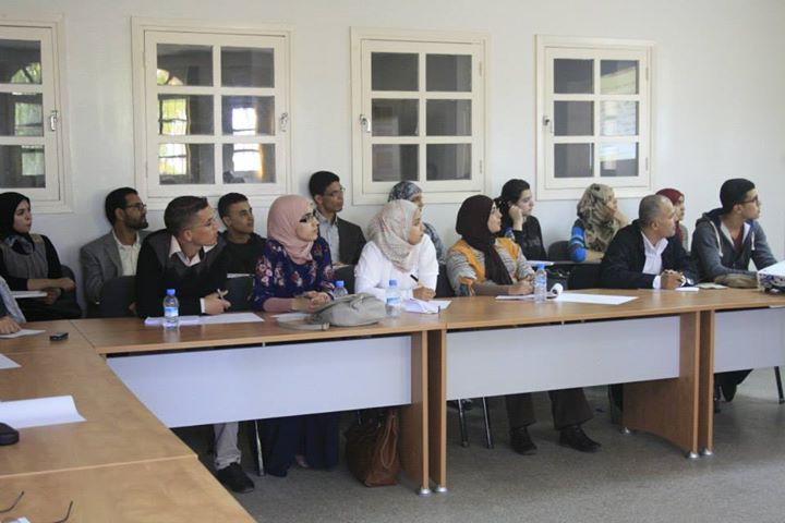 Moroccan Teachers during a seminar in Agadir