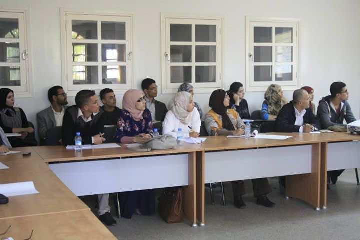 Moroccan Teachers during a seminar in Agadir