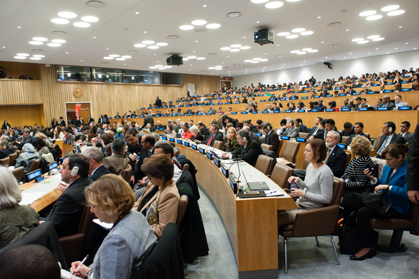 Plenary meeting of the 47th session of the Commission on Population and Development  (UN DESA)