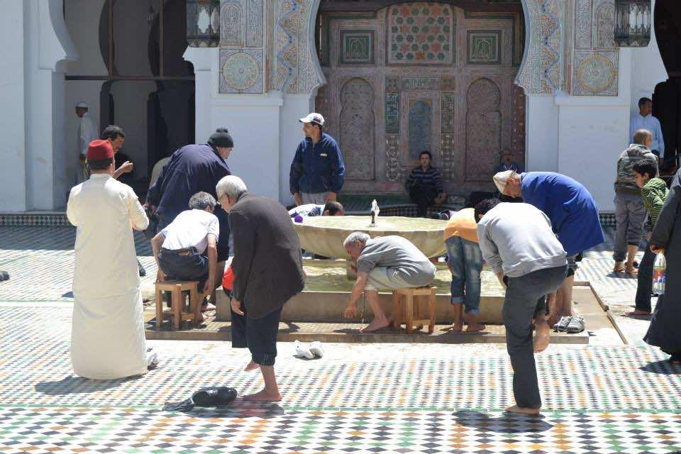 Qarawiyyin Mosque in Fez, Morocco