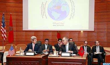 Salaheddine Mezouar, John Kerry.
