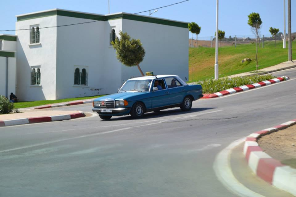 Taxi cab in Tangier, Morocco. Photo by Morocco World News