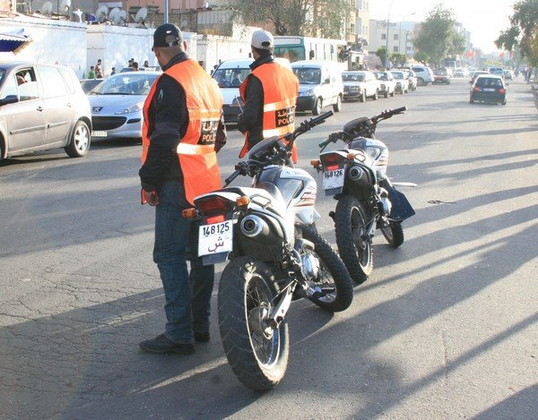 The Moroccan police department
