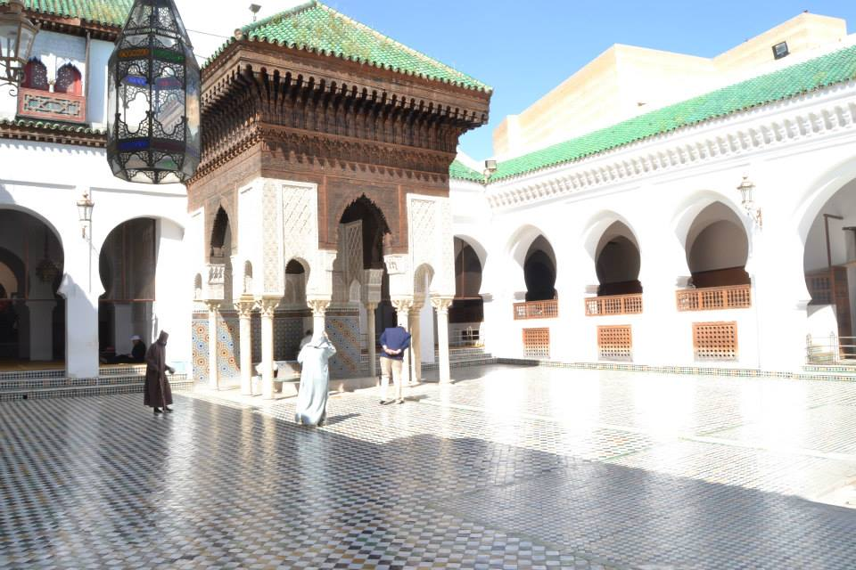 University and mosque of Al Qarawiyyin  in Fez