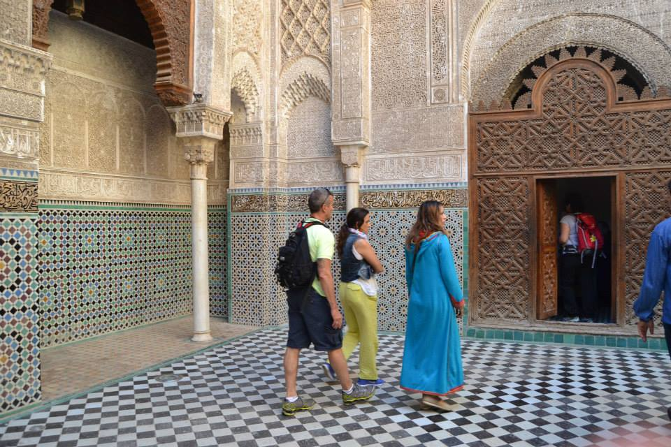 Medersa of Bou Inania in Fez