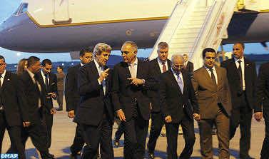 US Secretary Of State John Kerry Arrives In Rabat