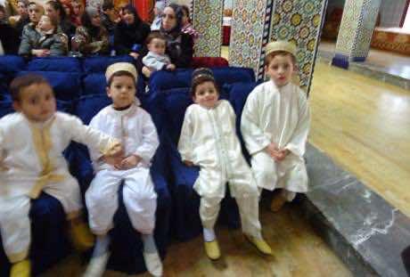 circumcision celebration in Morocco