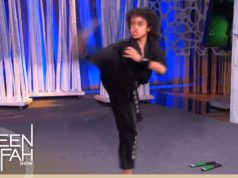 Moroccan American Nassim Lahrizi Shows Off His Moves