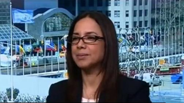 Aisha El Basri, former Moroccan spokesperson for the African Union