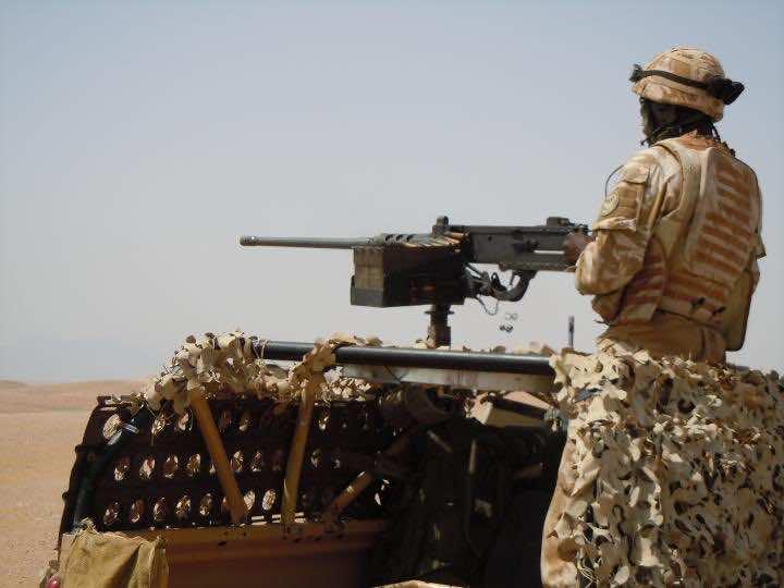 British Soldier on The Patrol