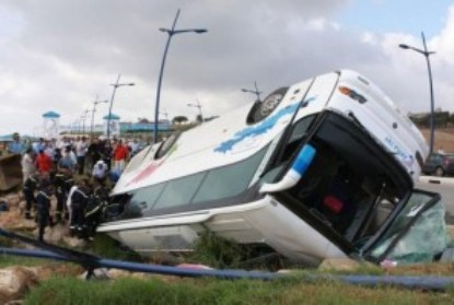 Buss accident
