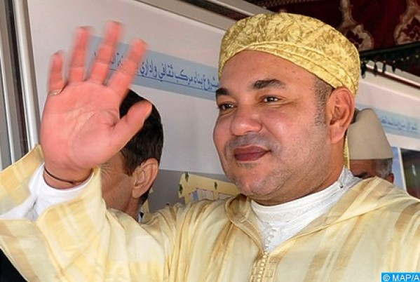 King Mohammed VI Arrives in Tunis for an Official Visit