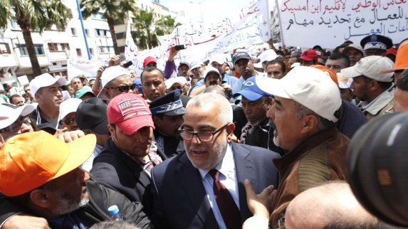 Moroccan Unions Lead Massive Mobilization Against Government Policies