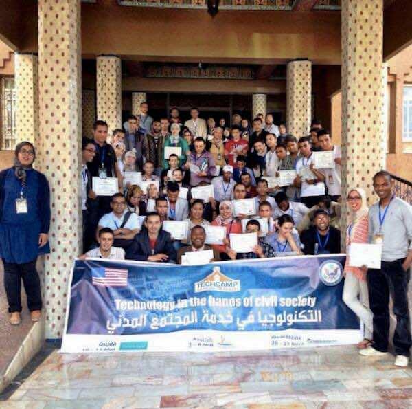 TechCamp Caravan is in Ouarzazate