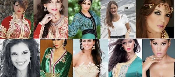 Top 10 Most Beautiful Moroccan Fashion Models