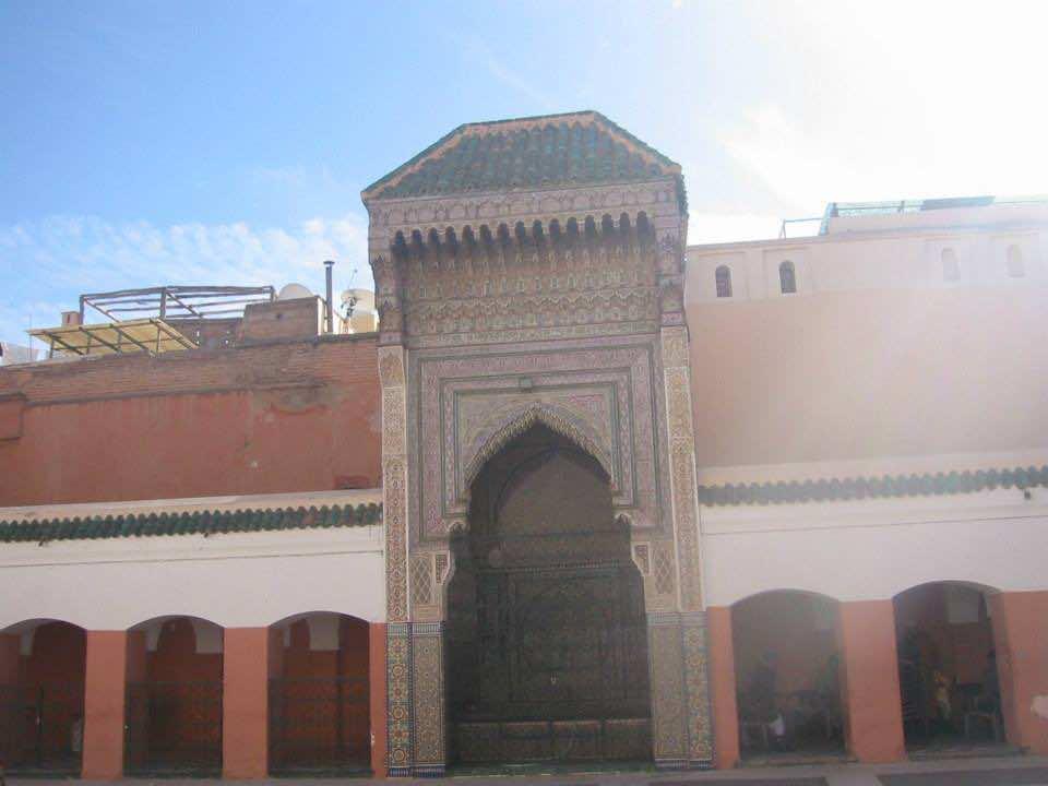 Zouia Sidi Bel Abbes in Marrakech