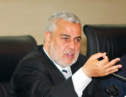 Morocco's head of government, Abdelilah Benkirane