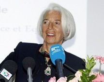 Lagarde Call on Her Blog For Freeing up the Moroccan Economy
