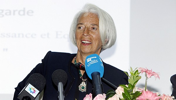 managing director of the International Monetary Fund (IMF) Christine Lagarde