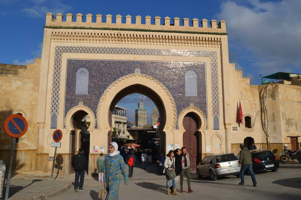 Fez Medina the Gate of Boujloud. Photo by Morocco World News