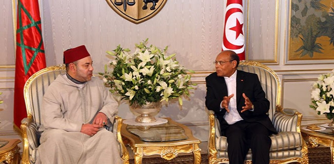 King Mohammed VI, Tunisian President Reaffirm Readiness to Help and Support Libya