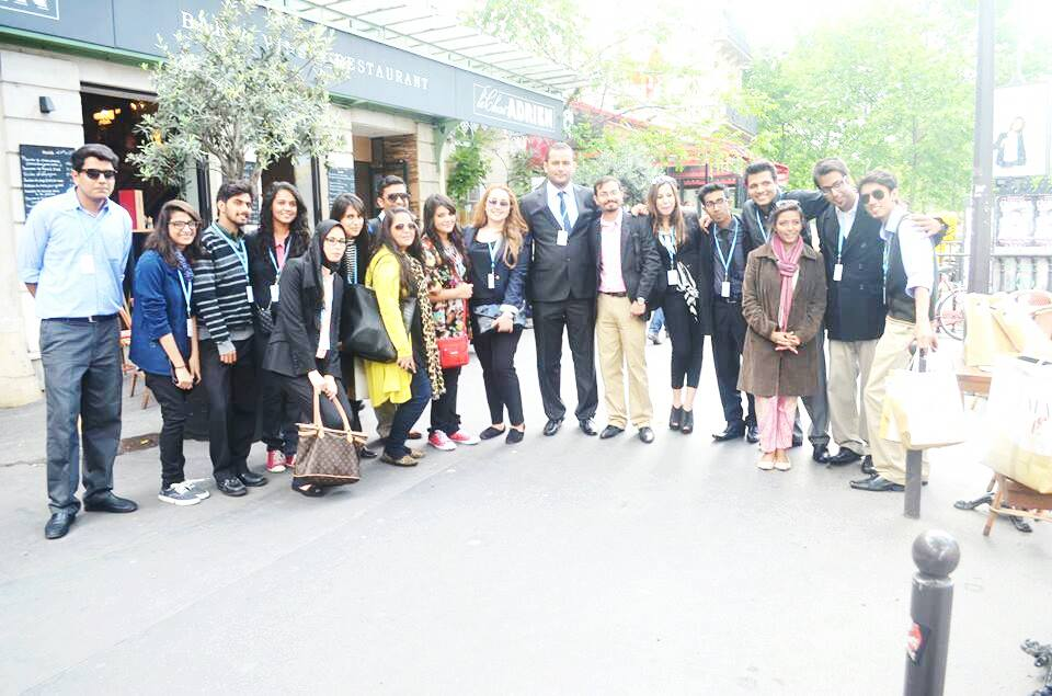 Moroccan Students in Paris International Model of the United Nations (PIMUN)