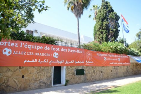 Rabat, Dutch  Embassy Urges Moroccans To Support the Netherlands Against Mexico
