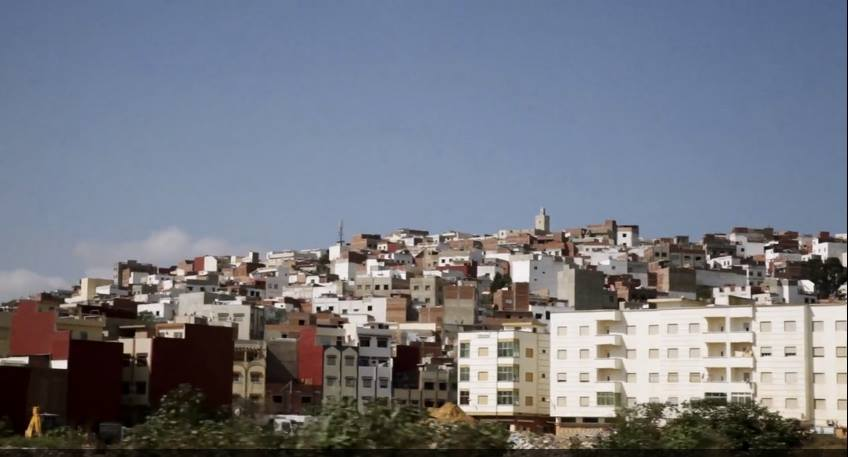 Tayrant, shouting in Morocco. Rabat neighborhoods