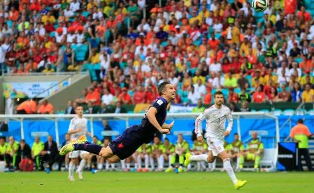 Van piersie goal