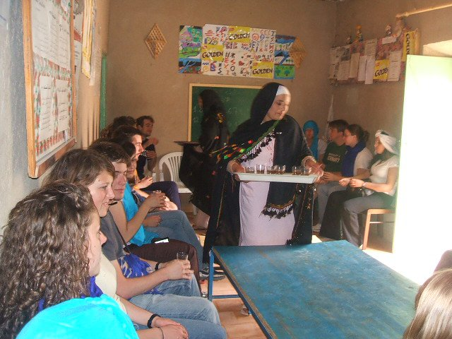 Western Students in Morocco