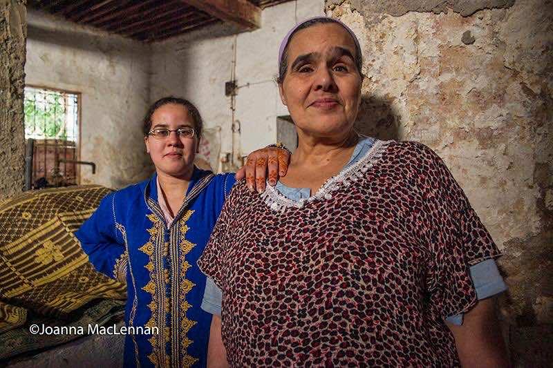 Women in Fez, Morocco