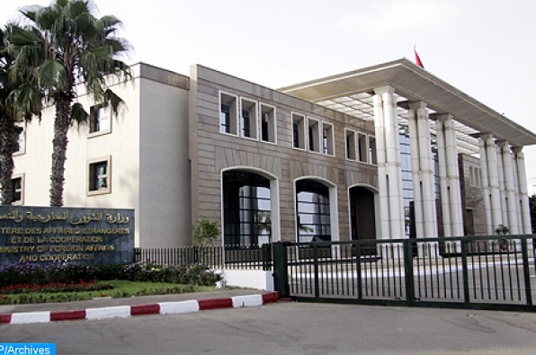 headquarters of the Moroccan Ministry of Foreign Affairs