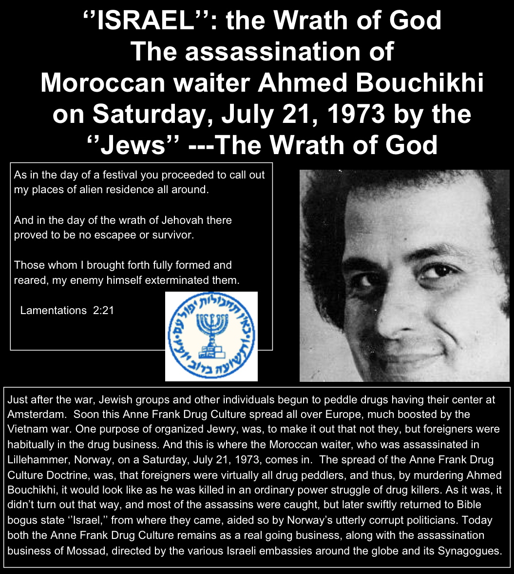 Ahmed Bouchikhi, the Moroccan who was shot dead by the Mossad in 1973 (picture, courtesy ditlieb-radio.com)