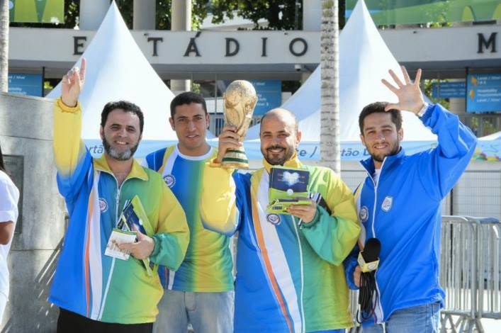 Brazil- 19 People Converted to Islam during World Cup