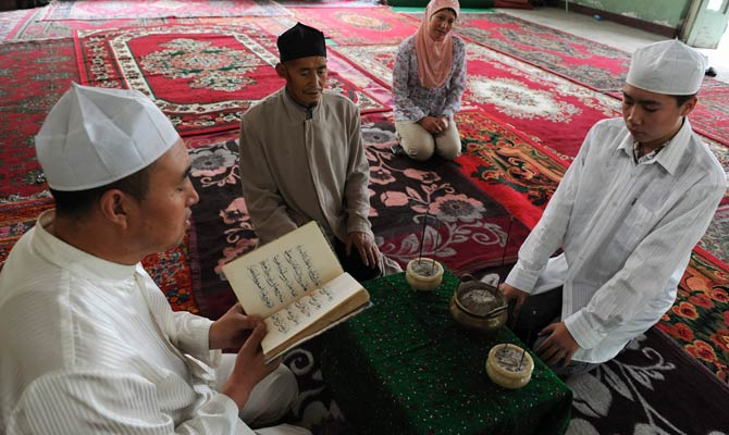 Muslim Uighurs in china