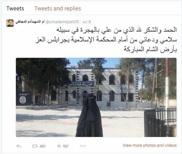 Morocco's Fatiha Mejjati Joins ISIS