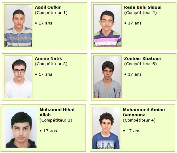 Six students to represent Morocco in International Math Olympiad 2014