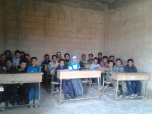 Syria children under great threat